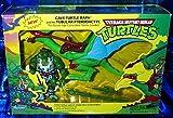"""Teenage Mutant Ninja Turtles Cave-Turtle Raph and Tubular Pterodactyl 4"""" Figure Set"""