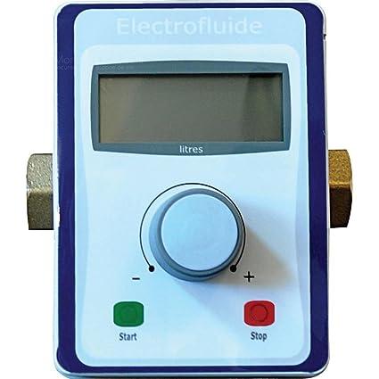 Relleno de dispositivo electrónico de dosificación para Extintores de incendios