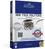 Finum 100 - Filtri da tè, in carta, misura M