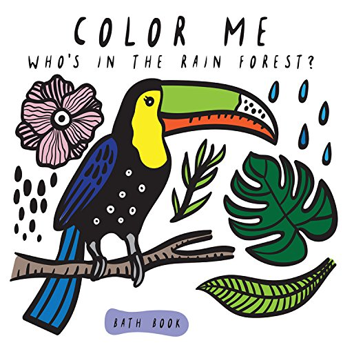 Color Me: Who's in the Rain Forest? (Wee Gallery Bath Books)