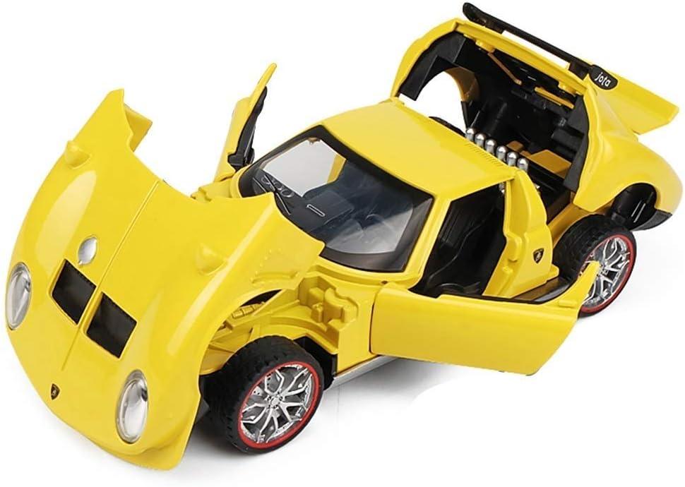 YaPin Model Car Simulación Rambo Gola Sports Car Alloy Car Modelo ...
