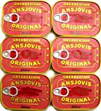 Abba Anchovy Fillets Tins 6-Pack