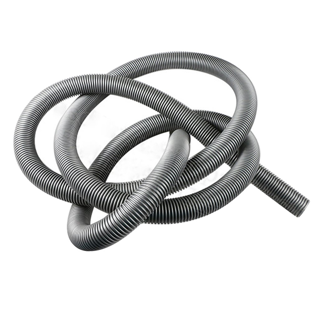 Flexible Hose Tube Pipe Vacuum Cleaner Spare Parts 38mm 1m Length Gray