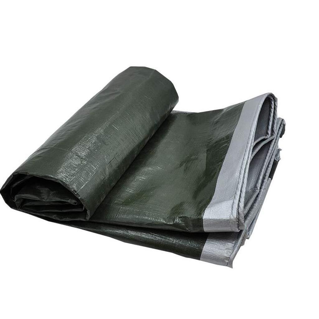 サンシェード 厚いプラスチック防水布防水屋外サンシェード日焼け止め断熱材ターポリンキャノピーターポリンデオドラント布クロスクレープ Rollsnownow (サイズ さいず : 5 * 8m) 5*8m  B07HMSMYT6