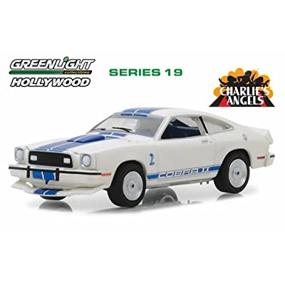 Greenlight 1976 Ford Mustang Cobra II, Charlie's Angels 44790A - 1/64 Scale Diecast Model Toy Car: Toys & Games