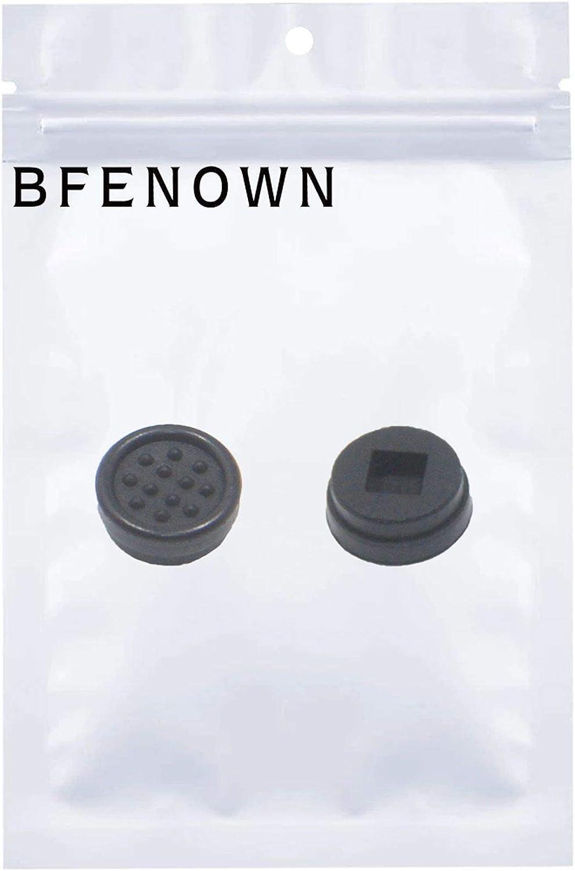 Bfenown Replacement 2PCS Keyboard Mouse Pointer Cap Trackpoint for Dell Latitude E5520 E5520m E5530 E6520 E6530 E6540 E6320 E6420 E6330 E6430 E6440 E542 Precision M4600 M4700 M4800 M6600 (Black)