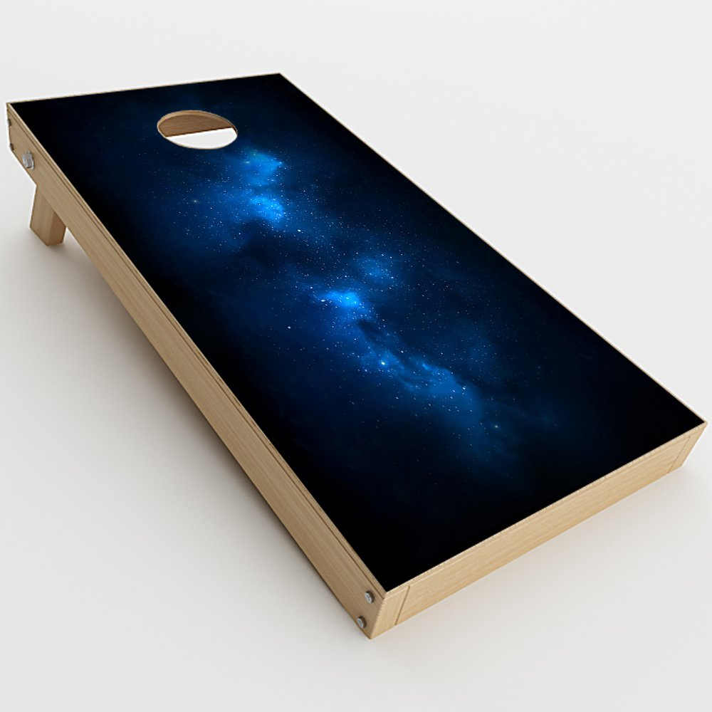 Skin Decal Vinyl Wrap for Cornhole Game Board Bag Toss (2xpcs.) Skins Stickers Cover / Space Galaxy Star Gazer