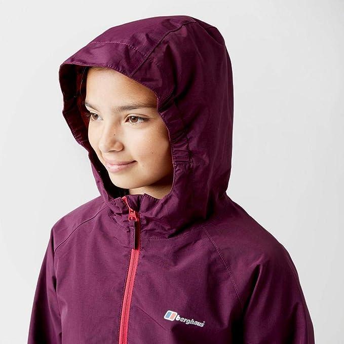 New Berghaus Kid's Bowood Hillwalking  Waterproof Jacket