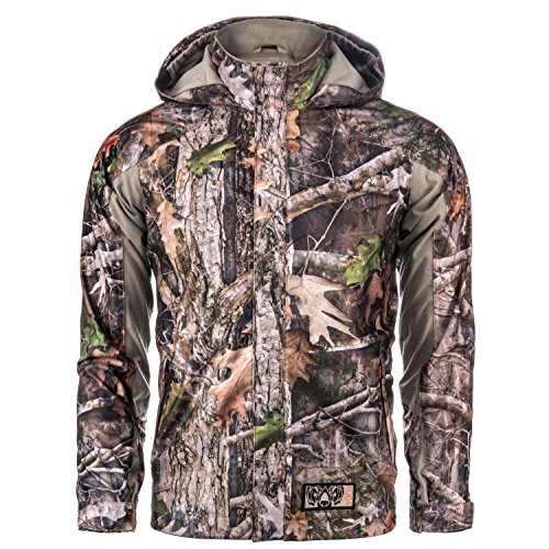 Lucky Bums Koda Adventure Gear Youth True Timber Hardshell Packable Rain Jacket, Kanati, L