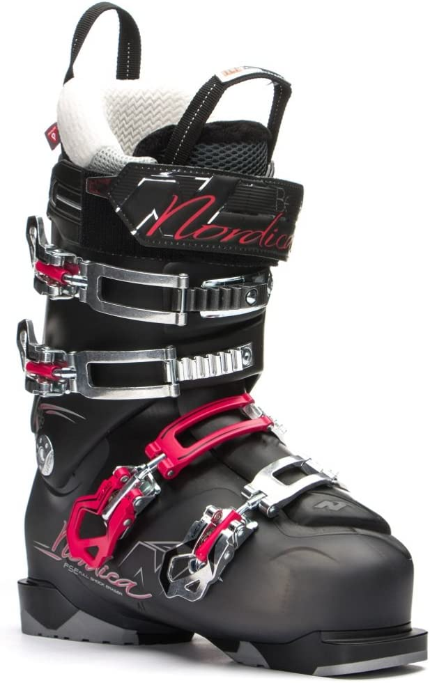 Nordica Belle 85 Ski Boot – Women 's 黒 Trans/赤