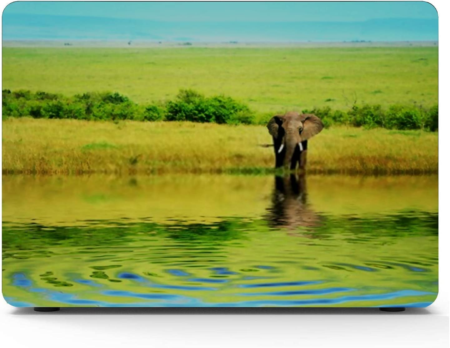 MacBook Pro Case African Elephant Wild Africa Kenya Masai MacBook Air 13 A1369//A1466 Plastic Case Keyboard Cover /& Screen Protector /& Keyboard Clean