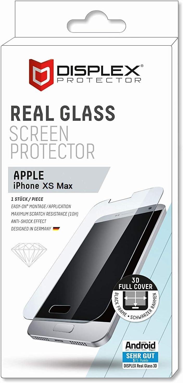 Displex Real Glass 3d Apple Iphone Xs Max Black Elektronik