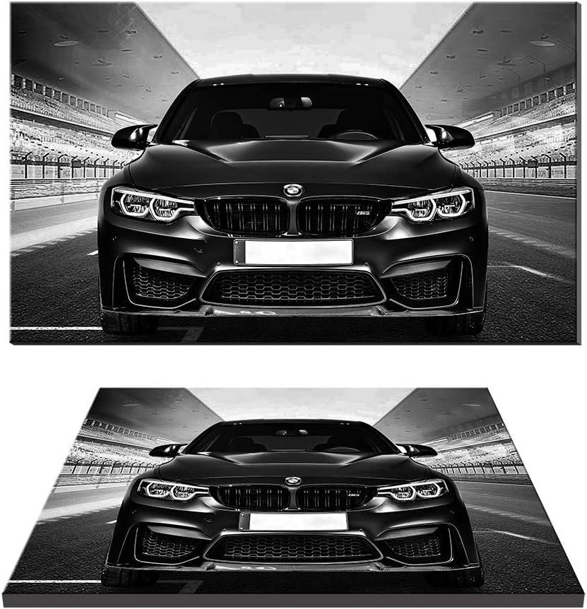 cr/éative pour d/écoration dint/érieur BMW M3 Reproduction de peinture Gicl/ée Impressions Racing Sports Voiture Poster