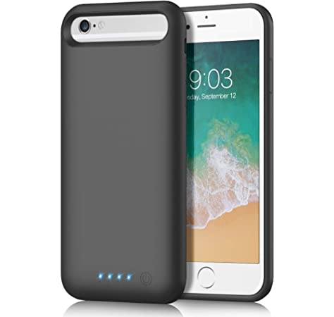 6800mAh Funda Bater/ía para iPhone 11 AOPAWA Funda Cargador Portatil Bater/ía Externa Ultra Carcasa Bater/ía Recargable Power Bank Case para iPhone 11