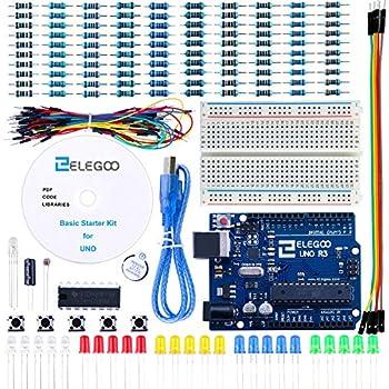 amazon com elegoo uno project super starter kit tutorial for elegoo uno project basic starter kit tutorial and uno r3 for arduino