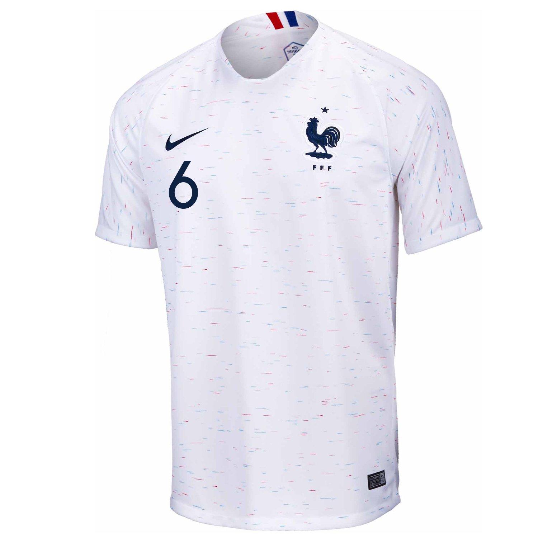 new style 2633f c7cb1 Amazon.com: Nike Pogba #6 France Away Youth Soccer Jersey ...
