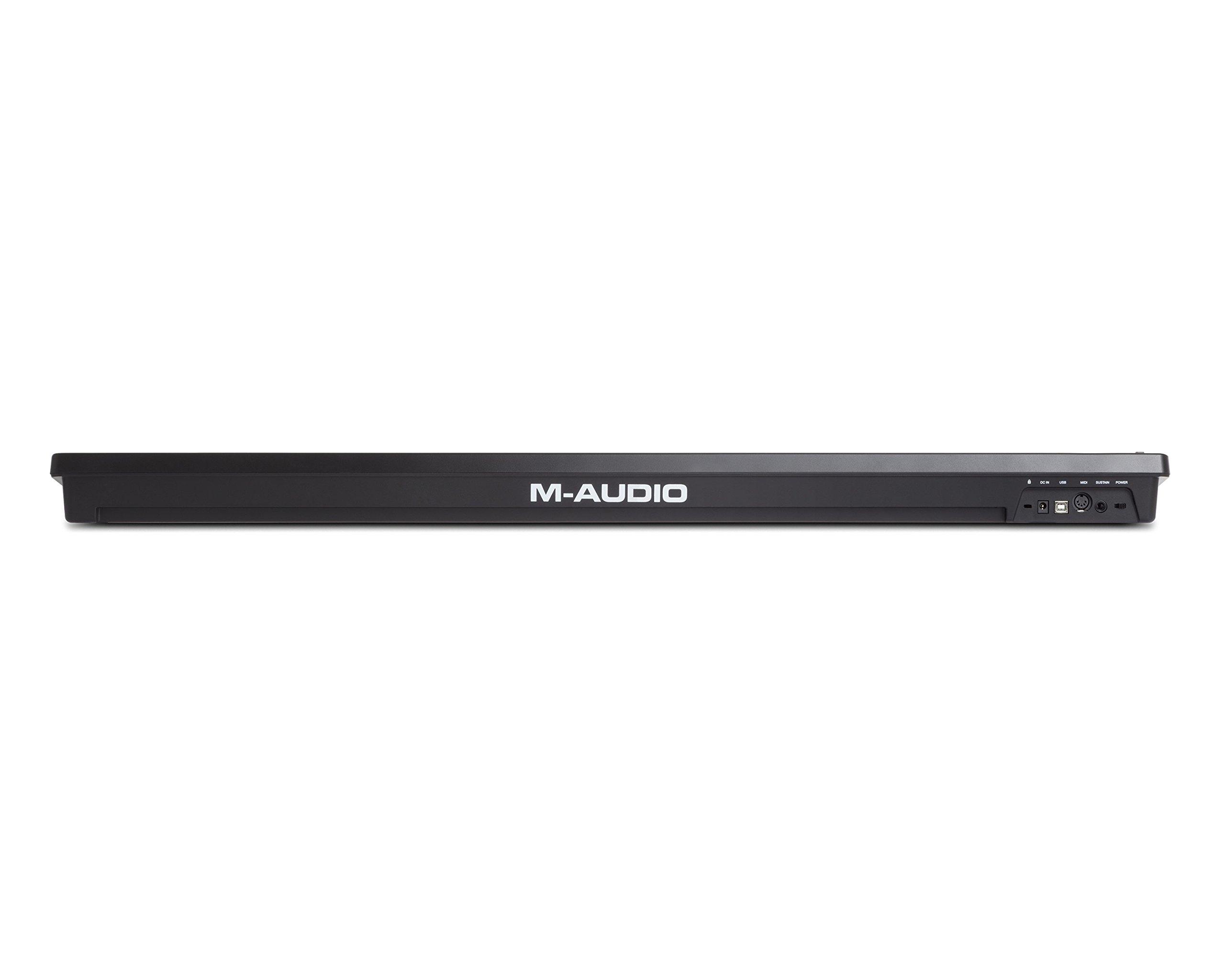 M-Audio Keystation 61MK3 | Compact Semi-Weighted 61-Key USB-Powered MIDI Keyboard Controller by M-Audio (Image #5)