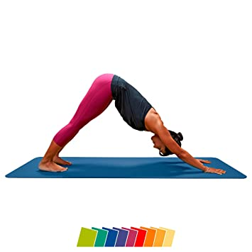 CALYANA® Prime Yogamatte Gymnastikmatte - Gymnastik Fitness Yoga ...