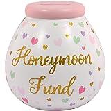 POT OF DREAMS CERAMIC MONEY BOX/ POT (Break To Open) Honeymoon Fund