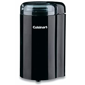 Cuisinart DCG-20BKN Coffee Bar Coffee Grinder, Black