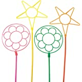 US Toy - Giant Neon Bubble Wands, Pk of 12, Assorted Colors , 24 L.