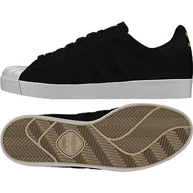 Adidas Superstar Vulc ADV, Zapatillas de Deporte para Hombre, Negro (Negbas/Ftwbla/Dormet 000), 47 1/3 EU: Amazon.es: Zapatos y complementos