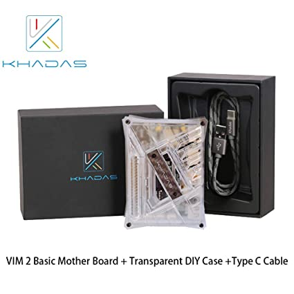 Amazon com: Khadas VIM2 Basic SBC Board with Amlogic C912 DDR4 2GB+