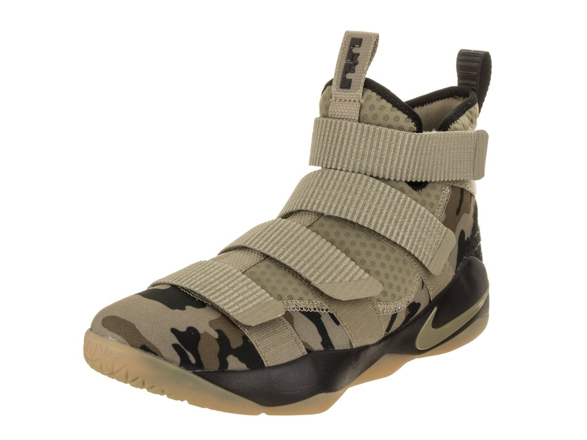 a0a8023dbef93 Galleon - Nike Lebron Soldier Xi Size 11 Mens Basketball Neutral  Olive Neutral Olive-Sequoia Shoes