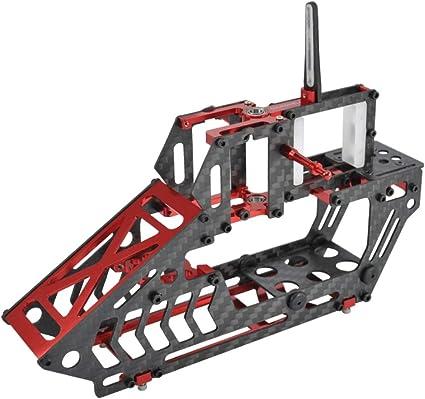 Microheli Aluminum//Carbon Fiber Main Frame Blade 230S RED Blade 230S V2