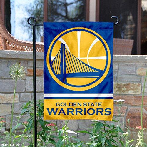 Golden State Warriors Double Sided Garden Flag