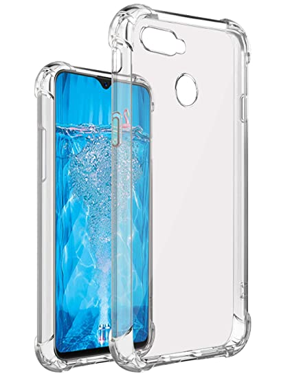 75e41fb2b Lofad Case Transparent Back Cover for Oppo F9 Pro  Amazon.in  Electronics