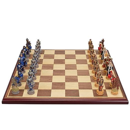 Retro Juego de ajedrez de Madera Internacional jugadas Juego de ...