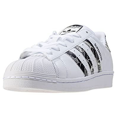 finest selection f26df c3e2c adidas Superstar W, Zapatillas para Mujer  Amazon.es  Zapatos y complementos