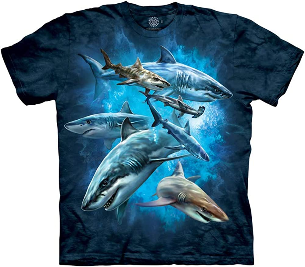 The Mountain Kids Shark Collage T-Shirt