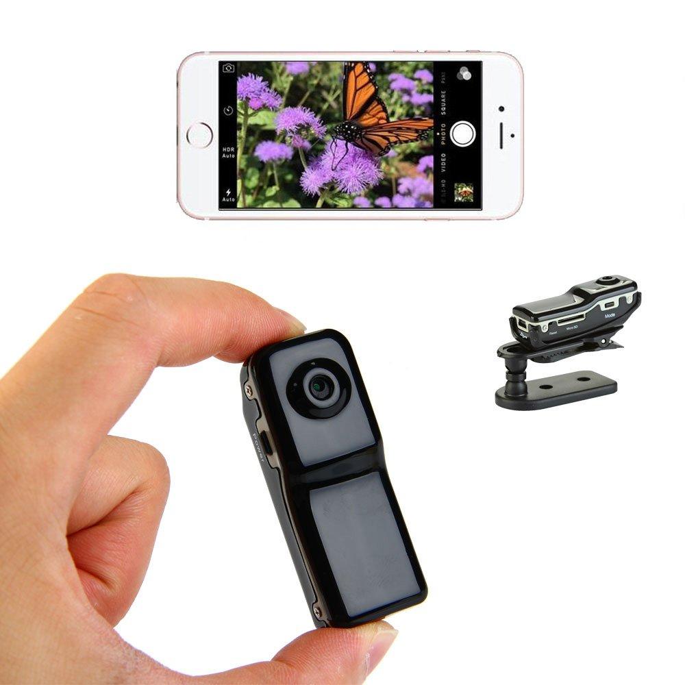 M80 Mini Camera Motion Detection DV DVR Wireless Aluminum Video Camera