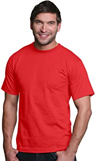 product image for Bayside Adult Long Sleeve Tee (Red)