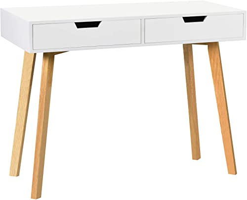 White Writing Computer Desk