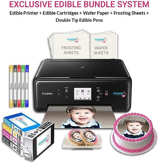 Amazon.com: Icinginks - Paquete de arte para impresoras ...