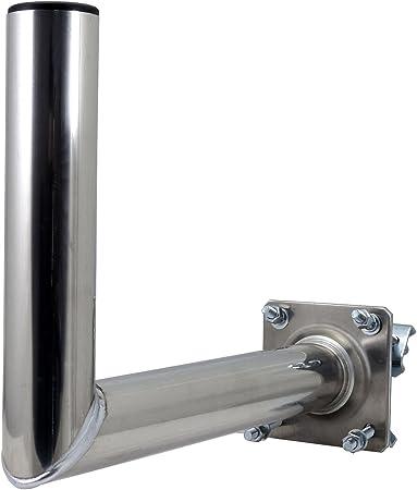 Satix Soporto para Mástil de la Antena 35 cm Aluminium para ...
