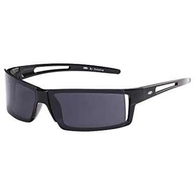 e27290faa اكس اكس اكس نظارة شمسية XXX من دون اطار للرجال - 324-اسود لامع - 70-15-135  mm