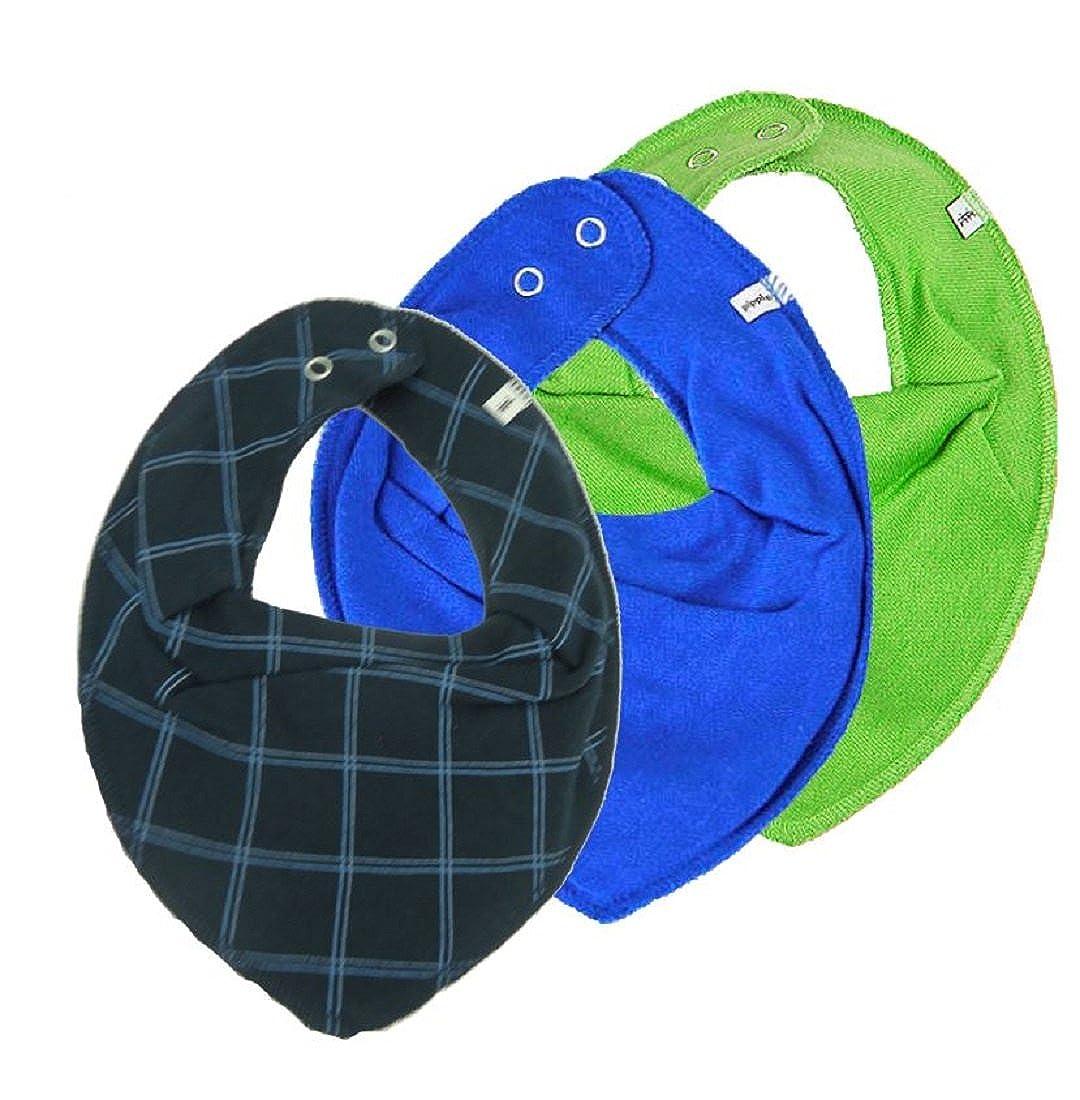 Pippi Halstuch 3er Set Baby Halstücher Dreieckstücher verschiedene Designs