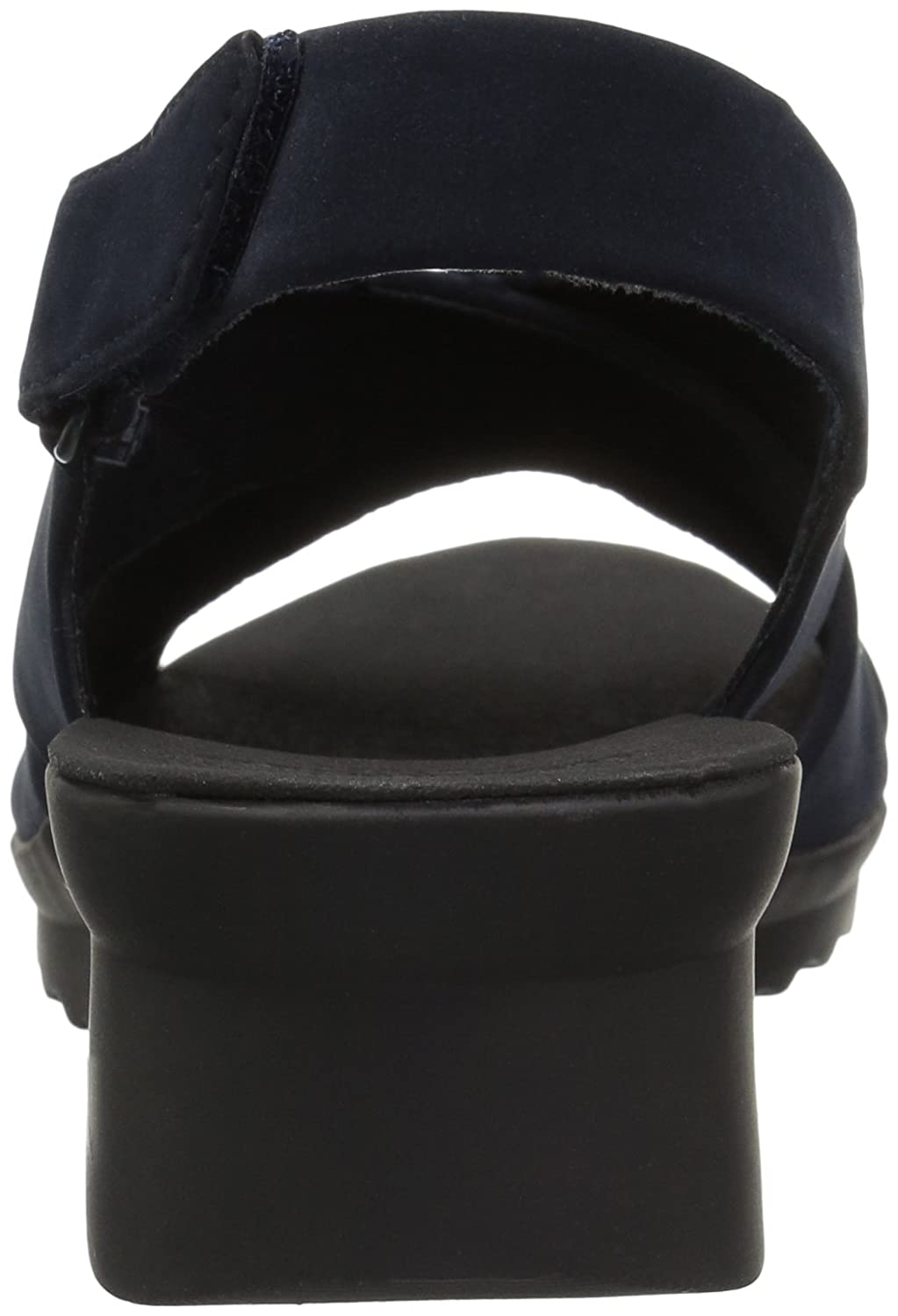 CLARKS Damens's Caddell Petal Platform, Navy Synthetic Nubuck, 6 6 Nubuck, Medium US - 253a17