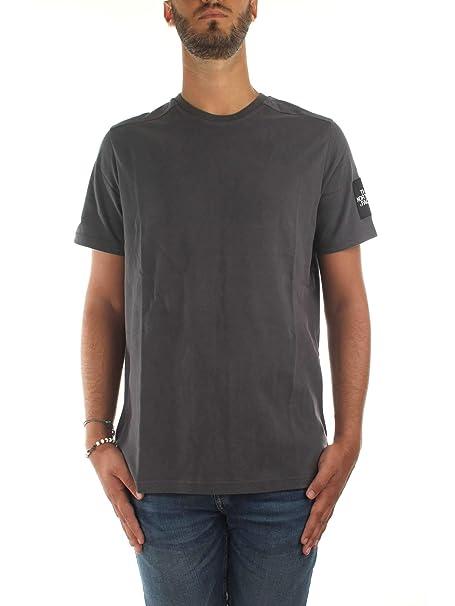 e2ad19a7e Camiseta The North Face Fine 2 Asphalt Gris Hombre: Amazon.es: Ropa ...