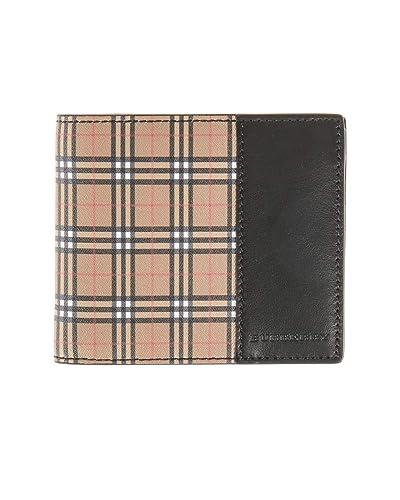 newest 1b464 da42d Amazon | (バーバリー) BURBERRY 2つ折り財布 型押しレザー ...