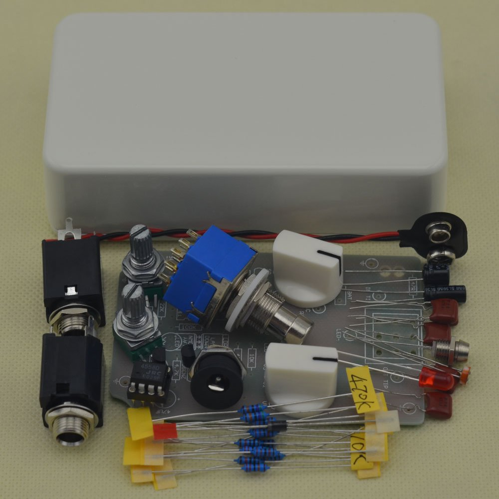 DIY Compressor effect pedal guitar stomp pedals Kit W