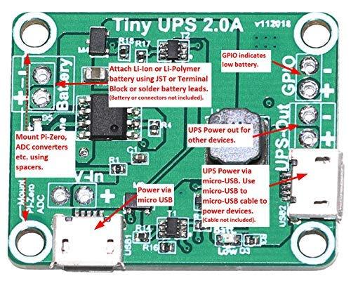 Tiny-UPS – Tiny, Fully Functional UPS