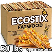 EasyGoProducts Eco-Stix Fatwood Fire Sta...