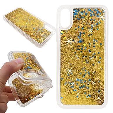 iPhone X Case, iPhone X Liquid Case, SOGOLA Twinkle Little Stars