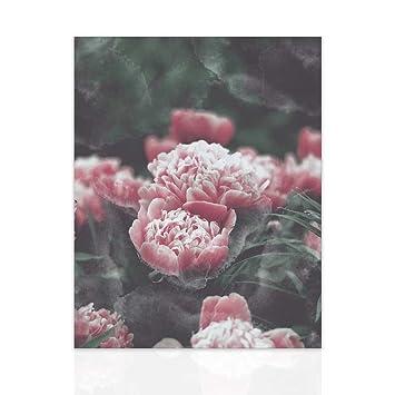 Declea Quadro con fiori pronto da appendere - Quadro Canvas Dipinto ...