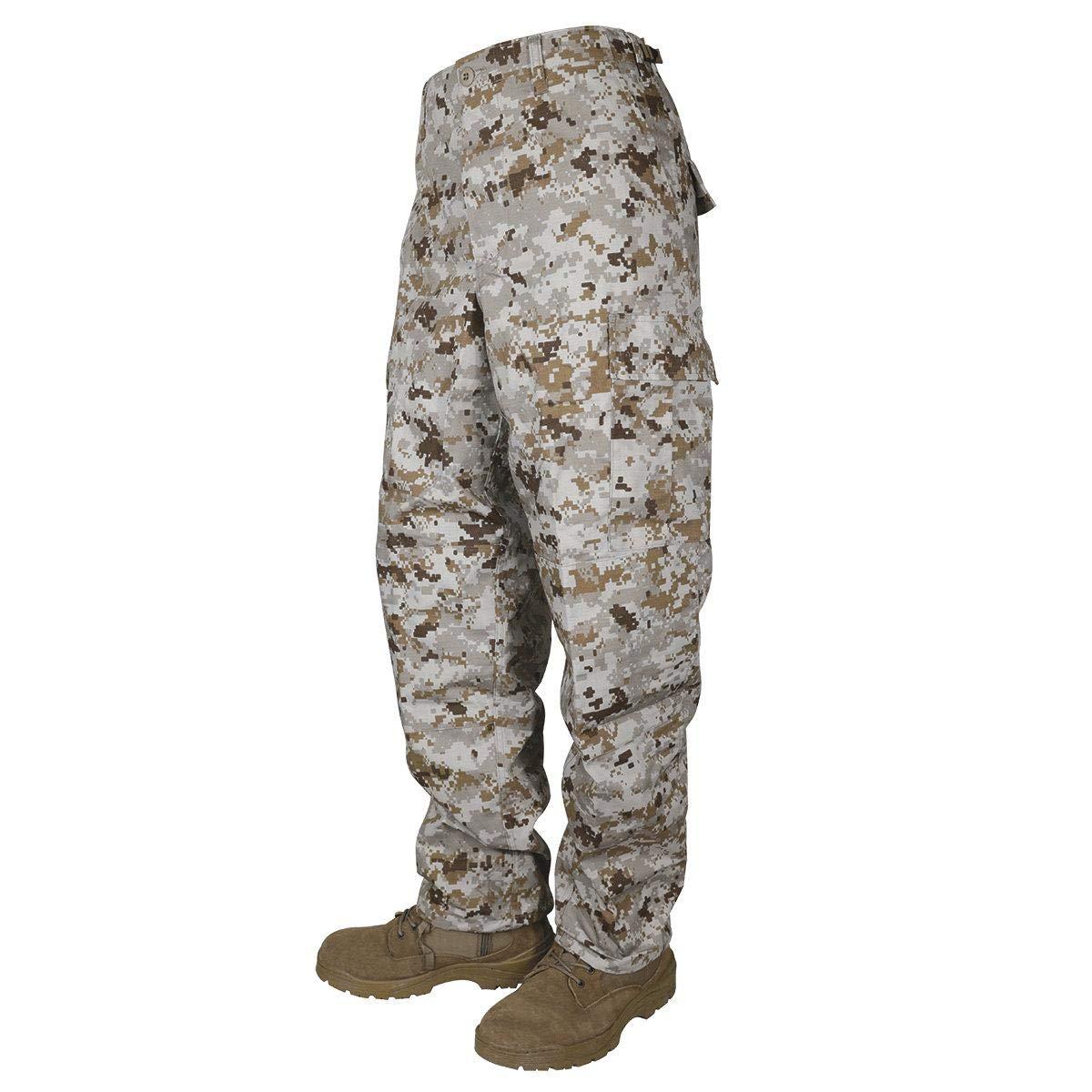 Tru-Spec 1371 Mens Tactical BDU Pants, Desert Digital Camo Altanco